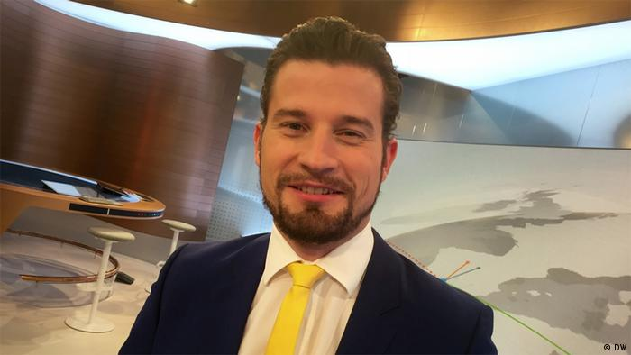 Christoph Kober, DW Business anchor