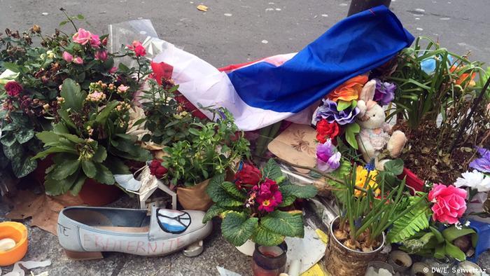 Paris Trauer nach Terroranschlägen
