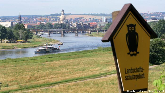 Дрезденская долина Эльбы