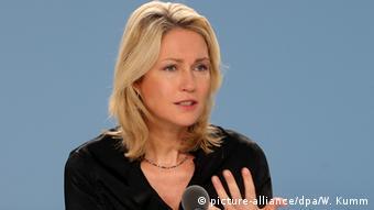 Deutschland Manuela Schwesig Bundesfamilienministerin