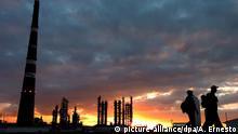 Ölraffinerie in Kuba