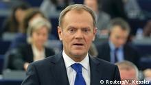 El polaco Donald Tusk, presidente del Consejo Europeo.