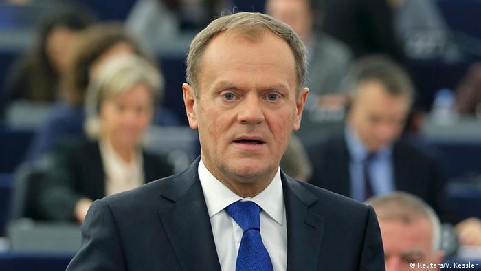 Europaparlament Donald Tusk Debatte