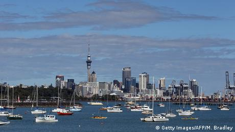 Neuseeland Skyline von Auckland