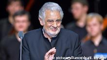 Opernsänger Placido Domingo