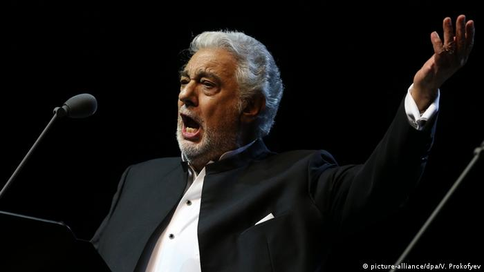 Opernsänger Placido Domingo. Foto: picture-alliance/dpa/V. Prokofyev