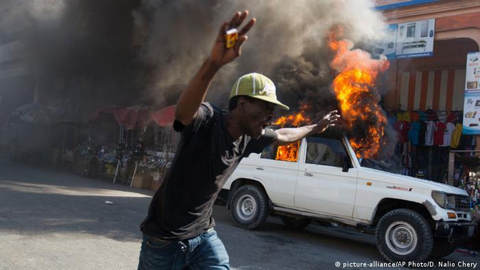 Haiti Proteste gegen die Regierung