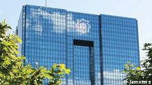 http://media.jamnews.ir/Original/1393/06/28/IMG08433576.jpg Die iranische Zentralbank in Tehran Schlagworte: Iran, Zentralbank, Bank Rechte: lizenzfrei, jamnews