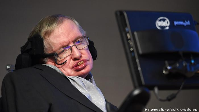 Physiker Stephen Hawking (picture-alliance/dpa/F. Arrizabalaga)