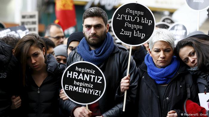 Türkei Gedenken ermordeter Journalist Hrant Dink (Reuters/O. Orsal)