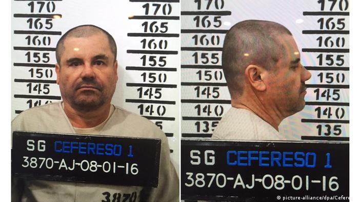 Mexiko Festnahme Drogenboss Joaquin Guzman Loera - El Chapo (picture-alliance/dpa/Cefereso)