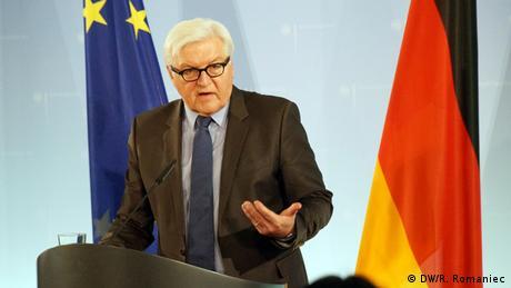 Finanzminister des Weimarer Dreieck in Berlin Außenminister Steinmeier