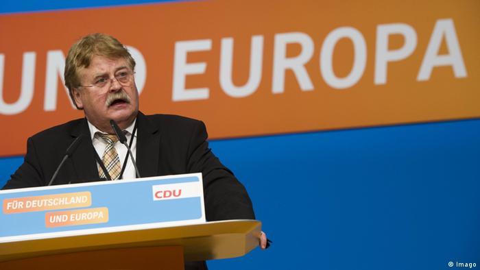 Elmar Brok Abgeordneter des Europarlaments (Imago)