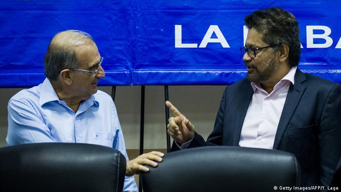 Ivan Marquez Farc Verhandlungen Kolumbien Humberto de la Calle Havanna