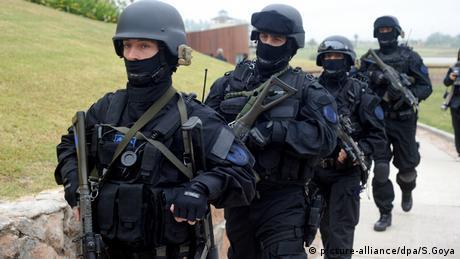 Argentinien Spezial Polizei Spezialeinheit Buenos Aires
