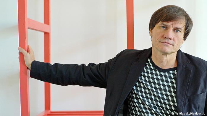 Мурзилка Сергій Захаров на відкритті виставки в Берліні