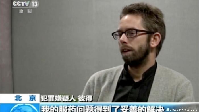 China nimmt schwedischen Menschenrechtsaktivisten fest - Peter Dahlin