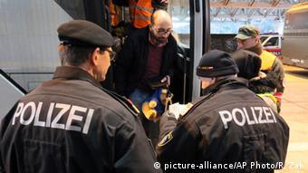 Österreich Flüchtlinge an der Grenze zu Slowenien