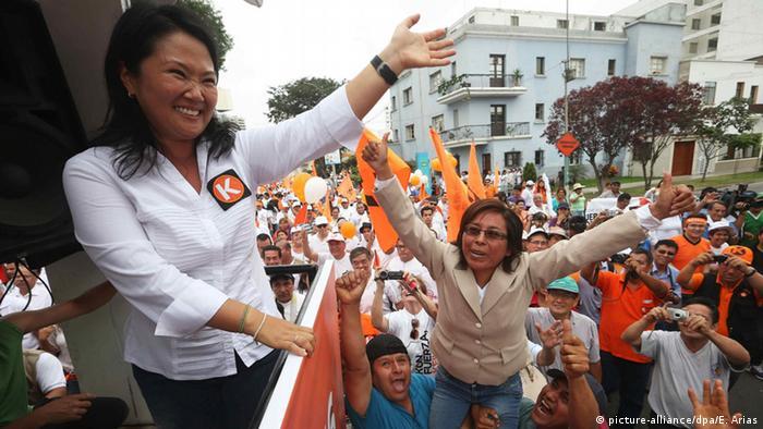 Präsidentschaftskandidatin Keiko Fujimori