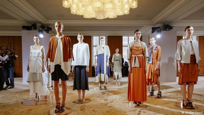 Nobi Talai Fashion Show as part of Berliner Mode Salon