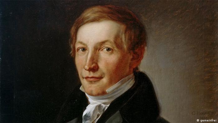 Painted portrait Peter J. Lenne (gemeinfrei)