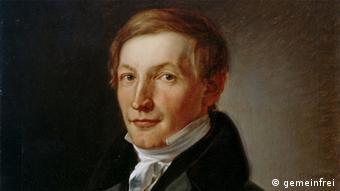 Peter J. Lenné, Gemälde von Carl Joseph Begas (1830)