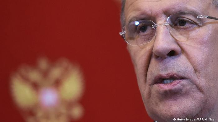 Russlands Chefdiplomat Sergej Lawrow (foto: Getty Images)