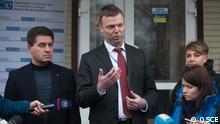 Ukraine OSCE Mission Alexander Hug