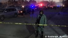 Afghanistan Anschlag nahe der Russischen Botschaft in Kabul