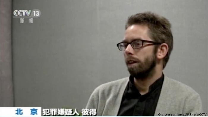 China Schweden Peter Dahlin Menschenrechtler festgenommen