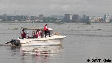 Kongo Boot auf Kongofluss