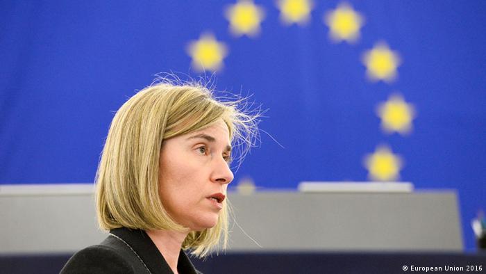 Могеріні вкотре розкритикувала Росію за її дії в Україні