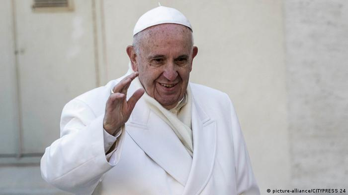 Papst Franziskus Copyright: picture-alliance/CITYPRESS 24