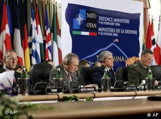 NATO defense ministers convene for a meeting