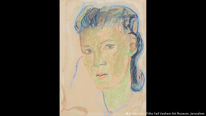 """""""Selbstporträt"""" der Charlotte Salomon"""