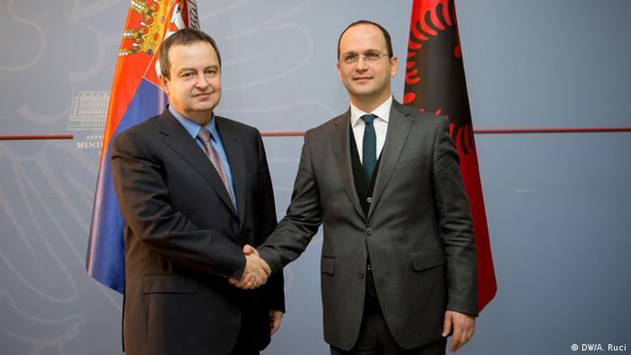 Albanien Serbien Italien Treffen