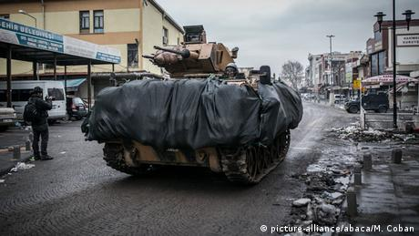 Türkei Diyarbakir Militäroffensive gegen Kurden