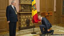 Republik Moldau Vereidigung des neuen Premierministers Pavel Filip