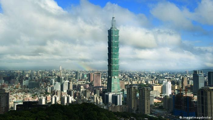 Taipeh Skyline Taipei 101 (imago/imagebroker)