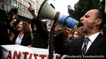 Griechenland Proteste gegen die geplante Rentenreform