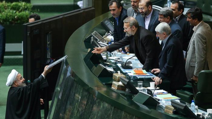 Iran Wochengalerie KW3 - Haushaltsentwurf (ISNA)