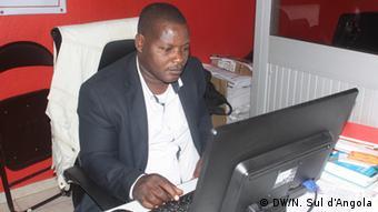 Angola Francisco Kabila, Herausgeber der Zeitung Machete