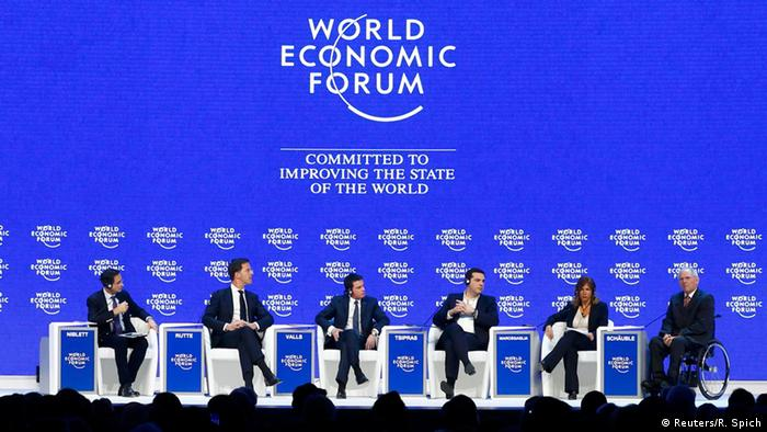 Weltwirtschaftsforum Davos 2016 - Panel The Future of Europe