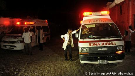 Somalia Anschlag auf Strandhotel in Mogadischu