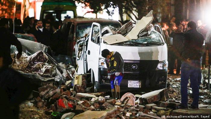 Ägypten Anschlag in Gizeh