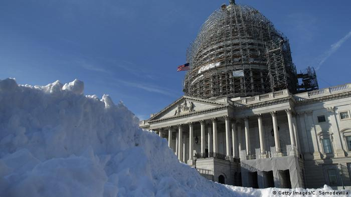 Schnee in Washington (Foto: Getty Images)