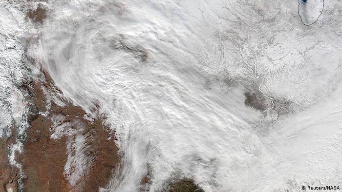 USA Washington Schneesturm Warnung (Reuters/NASA)