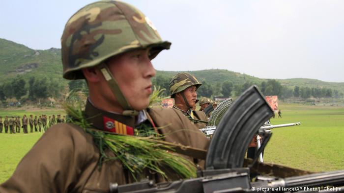 Nordkorea Soldaten