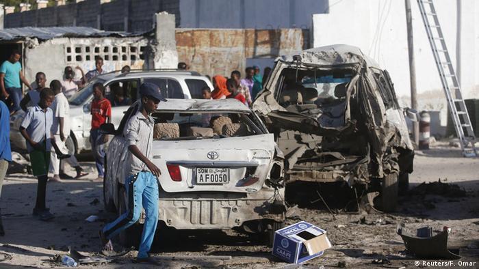 Somalia Angriff auf Restaurant in Mogadischu