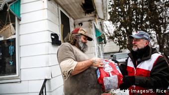 USA Trinkwasser in der Stadt Flint vergiftet